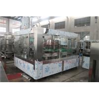 China Fruit Juice Glass Bottle Filling Machine With PLC Control Precision Filling Level on sale