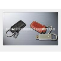 Metal and Leather case USB Flash Drive 005 Manufactures