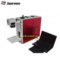 New Condition Mini Fiber Laser Marking Machine 20W For Jewelry / Bearingwatche Manufactures