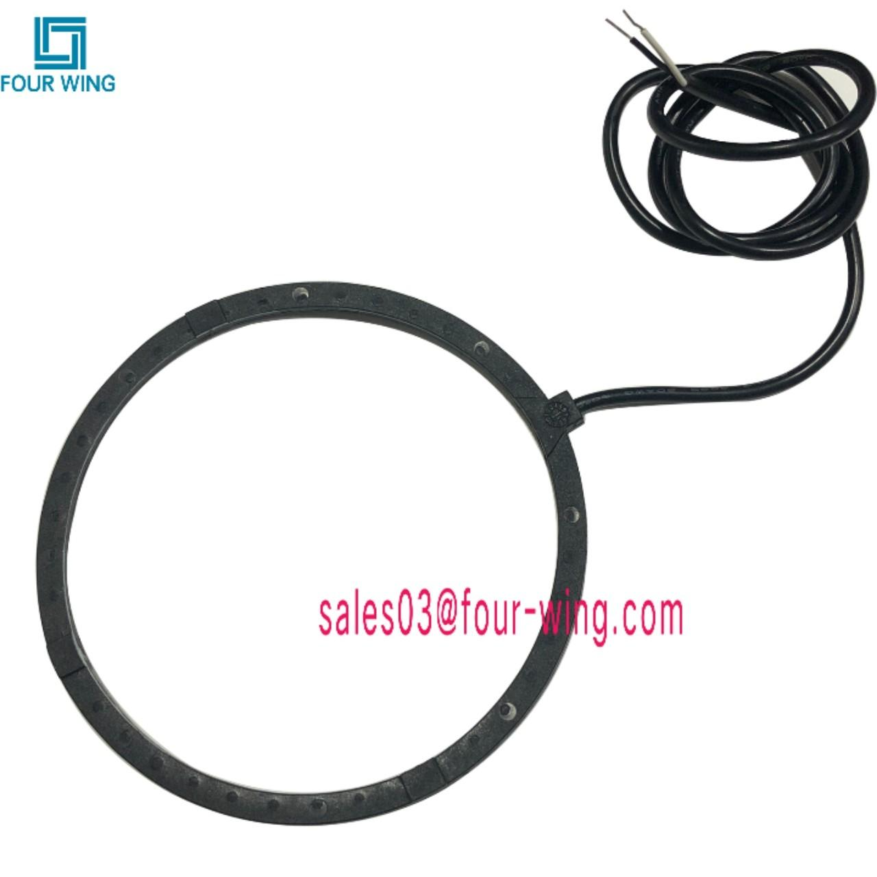 Factory OEM RFID reader tag Anti-theft coil wireless charger coil pasive tag molded coil reader car station charger coil for sale