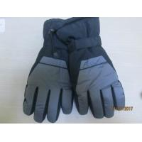 China Wholesale Cheap Winter Waterproof Snow Gloves Thinsulate Lined Ski Gloves--For Mens on sale
