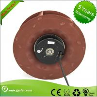 DC Centrifugal Impeller Fan / 24V DC Blower Fan Backward Curved For Air Circulation Manufactures