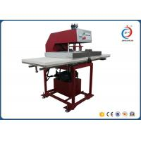 Quality Red Automatic Heat Press MachineTextile Hydraulic Double Working Position for sale