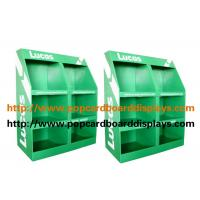 Unique Green Cosmetic Display Stand , Eco Friendly Cardboard Floor Displays Manufactures