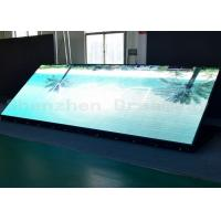 China Iron Cabinet Outdoor LED Signs High Resolution 6mm Pixel Pitch With Front Maintenance on sale