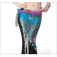 Leopard Print Chiffon Hip Scarves Belly Dancing Performance Costumes From Egypt Manufactures