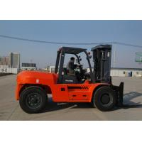 4 wheel Diesel Engine Forklift , Full Automatic Stepless Speed Adjustable Heavy Duty Forklifts Manufactures