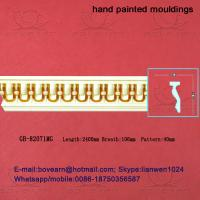 Hand Painted PU Cornices Panel Moulding Manufactures