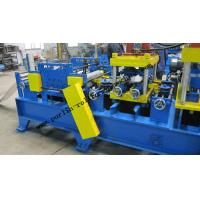 20 KW Steel Frame C Purlin Roll Forming Machine For C / Z / U Shape Purlins Manufactures