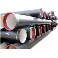 China BSEN598 Internal Cement Lined Pipe Ductile Iron Centrifugal Cast For water on sale