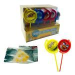 Rotating Toy Candy Dispenser Assorted Fruit Shape Halal Bubble Gum Dispenser Manufactures