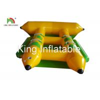 Commercial PVC Inflatable Towable Water Flying Fish Boat For 4 People Manufactures
