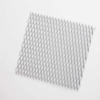 Fine Rigidity Expanded Metal Mesh Ceiling , High Strength Mesh Suspended Ceiling Manufactures