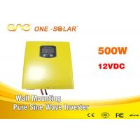 Wall - Mounting Off Grid Pure Sine Wave Inverter 500w 12V For Home Supply