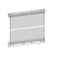 Installation System Metal Mesh Drapery Spraying Coated Surface Treatment Manufactures