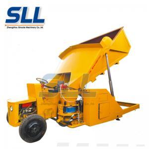Diesel Self Loading Dry Concrete Shotcrete Machine 15m3/H With 1 Year Warranty Manufactures