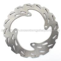 Stainless Steel Front Wavy Disc Brakes , Brake Rotors For Motorcycles Manufactures