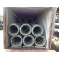 Firm Layer ASTM Galvanized Guy Wire , High Strength Cable For Overhead Aerial Line Manufactures