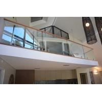Popular design stainless steel spigot clear glass railing for balcony design Manufactures