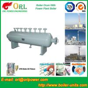 100 Ton biogas boiler mud drum ORL Power ASME certification manufacturer Manufactures