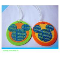 custom fashion 3D soft PVC luggage tag Manufactures