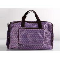 Foldable Sports Polyester Ladies Travel Bags For Travel And Weekend Manufactures