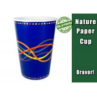 Custom 12oz Cold Drink Paper Cups Printed Disposable Big Size Paper Cup Manufactures