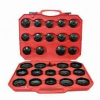 30-piece Cup Type Oil Filter Wrench for Auto/Motorcycle Repair Tools Manufactures