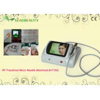 Quality Most Popular Fractional rf microneedle machine for face lifting/ wrinkles removal for sale