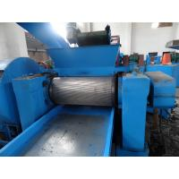 Double Shaft Tyre Crushing Machine Broken 50 - 300 mm Of Plastic Block Manufactures