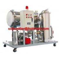 Quality Light Fuel oil purifier, Gasoline Oil Dehydration filteration remove particles 50% water, Diesel Oil Water Separator for sale
