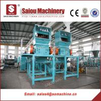 Quality crushing washing drying plastic bottle flakes recycling machine for sale