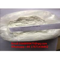 Healthy Raw Powder Bulking Cycle Steroids Winstrol Stanozolol For Body Growth CAS 10418-03-8 Manufactures