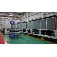 1168kw R134A Refrigerant Air Cooled Screw Chiller High Efficiency Air Cooled Chiller Manufactures