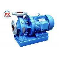 China Inline Circulating Centrifugal Water Pump ISW Series Stainless Steel Material on sale