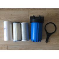 China 10 Inch Water Filter Housing  Polypropylene Big Blue Jumbo Blue with Air Release on sale