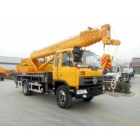 China DFAC Mobile Hydraulic Vehicle Mounted Crane With 16 - 20 Ton Lifting Capacity on sale