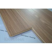 Teak Nature AC4 Glossy Laminate Flooring European Retro For Hotels Manufactures