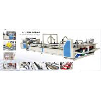 Carton Box Folder Gluer Machine , High Speed Paperboard Rectify Device Manufactures