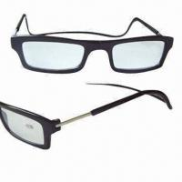 Reading Glasses with Magnet, Made of Plastic Manufactures