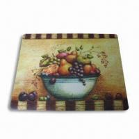 2 Functions Chopping Mat/Placemat, Made of PP, Customized Designs and Logos are Welcome Manufactures