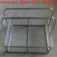 Easy to clean and durable stainless steel wire mesh filter disinfection basket/medica wire mesh baskets Manufactures