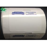 Strong Adhesive Thermal Printer Labels Roll Bumper Body Window Car Sticker Easy To Tear Manufactures