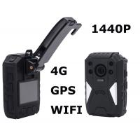 Police Officers 1440p Night Vision Body Camera Recorder With One Touch Recording Manufactures