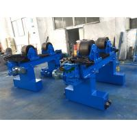40 Ton Industrial Welding Turning Rolls High To Support Pipes / Tubes / Cylinders Manufactures