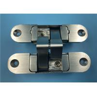 Heavy Duty 3D Adjustable Concealed Hinges With Stainless Steel Connecting Arm Manufactures