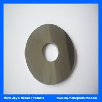 High quality hot selling HIP Sintered tungsten carbide disc cutters for cuttting metals Manufactures