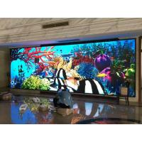 China Dustproof 8x12 Indoor LED Display Screen / HD LED Video Wall System on sale