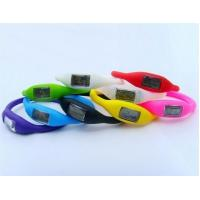 eco-friendly waterproof anion silicone fashion ditital watch Manufactures