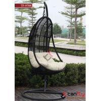 China TF-9708 swing chair popular patio wicker chair hanging chair on sale